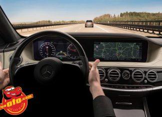 Mercedes-Benz S-Class mới hé lộ bảng điều khiển và tính năng trợ lái thông minh