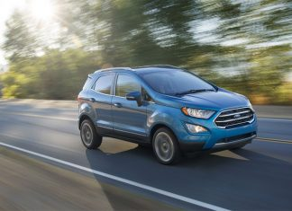 Ford Ecosport 2017 - Mẫu xe của gia đình