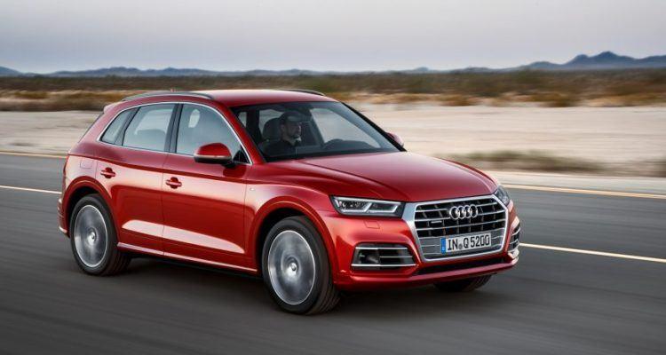 Audi Q5 2017 được giới thiệu những thay đổi đáng kể