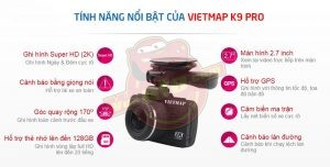 cam hanh trinh Vietmap K9pro